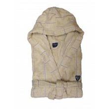 Cottonfield Badjas Stitched Stripe - XL - Desert