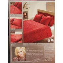 Descanso Laken By Daphne Deckers (9063) - Tweepersoons - 200x275 cm - Rood