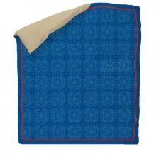 LIEF! Bedsprei Basic Quilt - Eenpersoons - 160x230 cm - Blauw