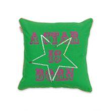 Little Diva Sierkussen Star - 45x45cm - Green