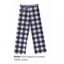 Marieke at Home Long Trouser Anne Check - Blauw