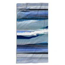 Essenza Strandlaken Mooa - 100x180 cm - Blauw