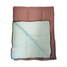 Slaapzak 350 - 80x210 cm - Grijs/Aqua
