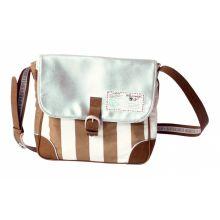 Stapelgoed  Cross-over bag Stripe - Grijs