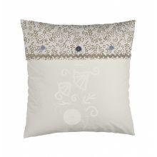 Stapelgoed Sierkussen Shiny Pearl - 50x50 cm - Bruin