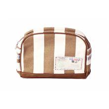Stapelgoed  Toiletbag Stripe - Grijs