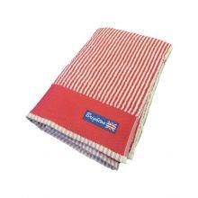 Brighton Badlaken Stripe (2 stuks) - 70x140 cm - Rood