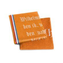 DDDDD Keukenset Wilhelmus (6x Theedoek + 6x Keukendoek) - Oranje