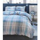 Beddinghouse Dekbedovertrek Baker - Litsjumeaux - 240x200/220 cm - Aqua Blue