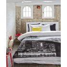 Beddinghouse Dekbedovertrek Downtown - Litsjumeaux - 240x200/220 cm - Black