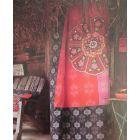 Covers en Co Dekbedovertrek Lisboa - Eenpersoons - 140x200/220 cm - Rood