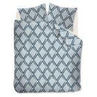 Beddinghouse Dekbedovertrek Peru (flanel) - Eenpersoons - 140x200/220 cm - Blue