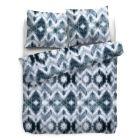 HnL Pure Cotton Dekbedovertrek Tholson - Litsjumeaux XL - 260x200/220 cm - Blauw