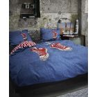 Covers en Co Dekbedovertrek Zack - Tweepersoons - 200x200/220 cm - Navy