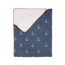 Covers en Co Plaid Anchor - 130x170 cm - Blue