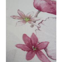 Damai Blanchette Dekbedovertrek Bloemen - Tweepersoons - 200x200/220 cm - Paars/Roze