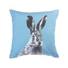 KAAT Amsterdam Sierkussen Colored Hare - 43x43 cm - Blue