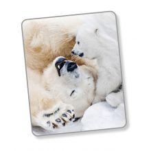 Good Morning Plaid Cute Bear - 130x160 cm - White