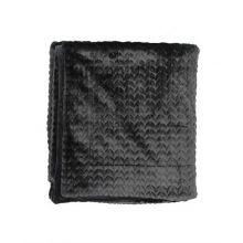 Essenza Plaid Faya - 150x200 cm - Black