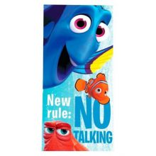 Disney Strandlaken Finding Dory No Talking - 70x140 cm - Blauw