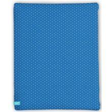 LIEF! Hoeslaken Blue Star - 40x80 cm - Blauw