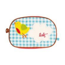 LIEF!  Toiletbag Love Letter (small) - Blauw