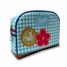 LIEF!  Toiletbag - Blauw